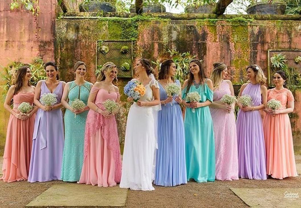 Tendência para madrinhas e convidadas | Noiva em Folha
