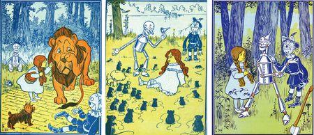 Original Art--The Wizard of Oz