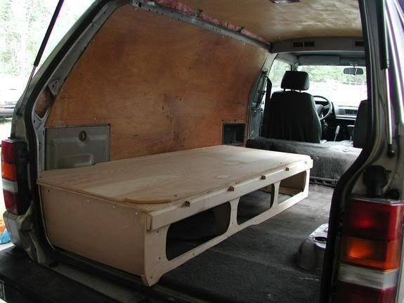 Image Result For Bed In Van Van Conversion Ideas Van
