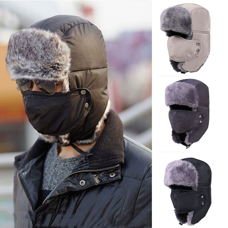 8b5c1838b9a3ee Unisex Mens Womens Winter Trapper Aviator Trooper Earflap Warm Ski Hat Mask  HOT #Unbranded #Beanie
