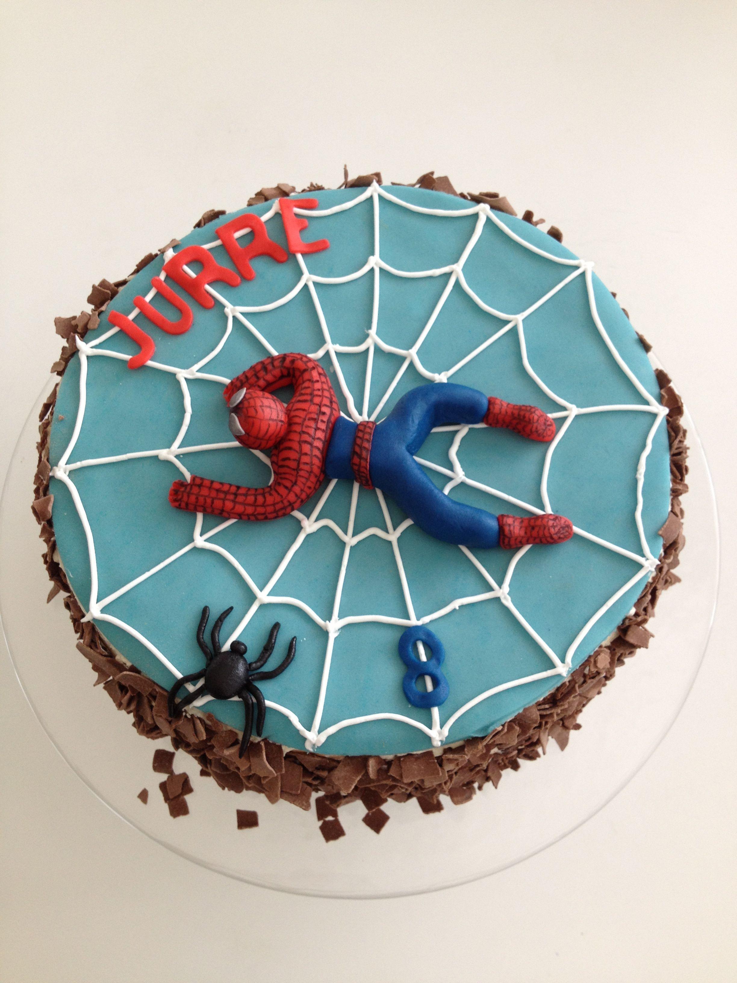 Spiderman Taart Cakes