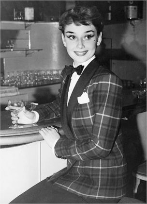 Audrey Hepburn set the fashion standards of the early 1960's. Her great-grandmother was Kathleen Hepburn, descendant of the Scottish consort James Hepburn, 4th Earl of Bothwell, best known for his marriage to Mary, Queen of Scots, as her third husband.