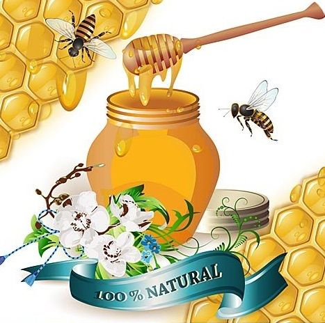 Картинки для меда для декупажа