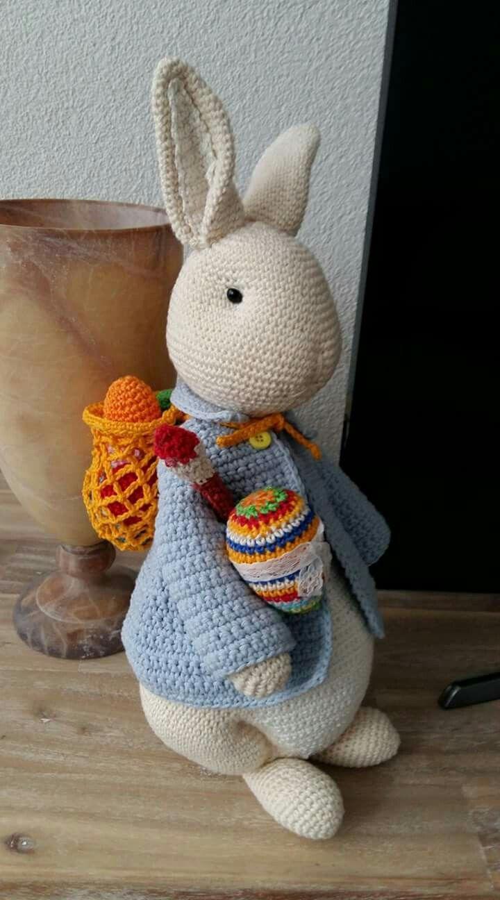 Paashaas Haken En Breien Voor Pasen Pinterest Crochet Projects