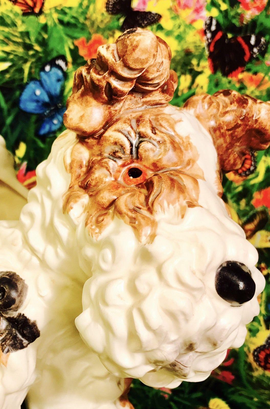 AMAZING! Retro Wire Fox Terrier Planter Estate Sale Rare 1950s Kitsch Vintage | eBay