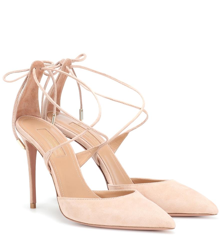 Bridal Shoes Harvey Nichols: Very Matilde 105 Suede Pumps