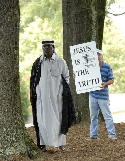 Muslims Gather For Jumah Prayer For The DNC