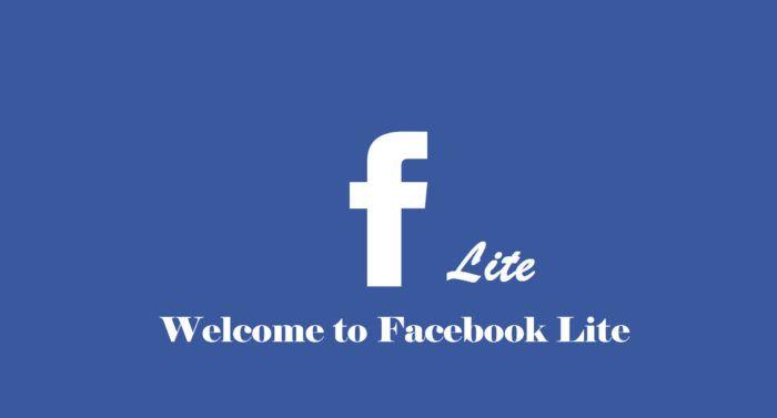 to Facebook Lite Download the Facebook Lite App