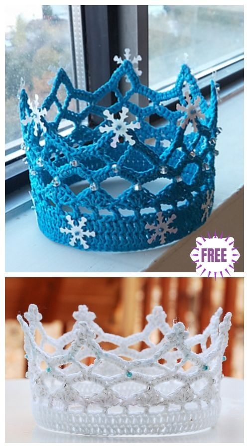 Häkeln Sie Royal Crown Free Crochet Pattern #crownscrocheted