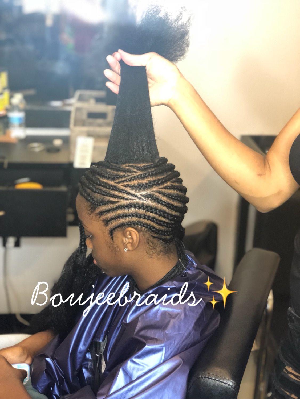 Sideways Feedin Braids Cute Little Girl Hairstyles