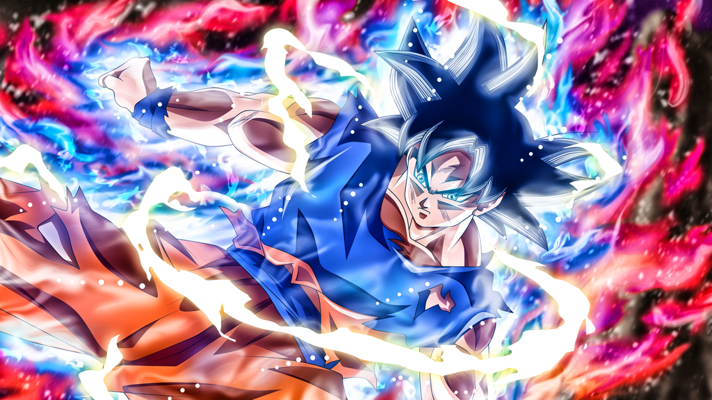 Goku Mastered Ultra Instinct By Rmehedi Dragon Ball Super Wallpapers Dragon Ball Super Goku Dragon Ball Goku