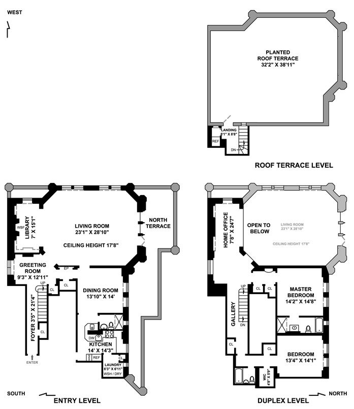 Right Across The Street From The Un Building Tudor City Nyc Apartment Floor Plans Floor Plans House Plans