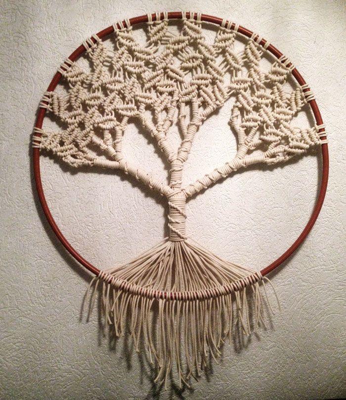 macrame tree of life hulalou macram pinterest. Black Bedroom Furniture Sets. Home Design Ideas