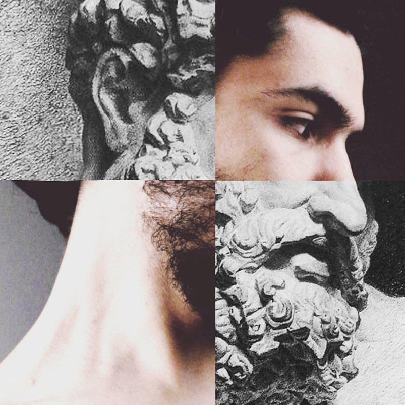 Le_saiko hercules #le_saiko #lesaiko #saiko #sayedgad #collage #collageart #art Collage art draw