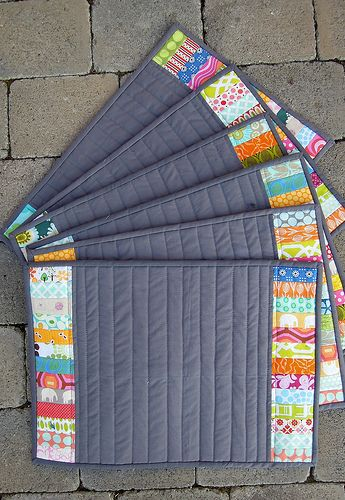 Placemats By Quilting Barbie Summer Sewing Pinterest