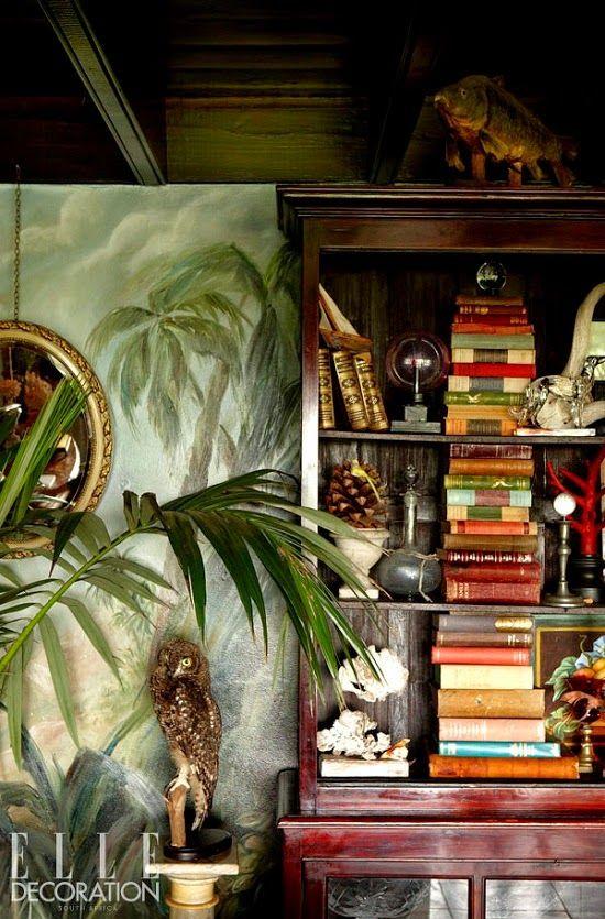 Die Wohngalerie Britisch Kolonial Tropische Dekoration Dekoration