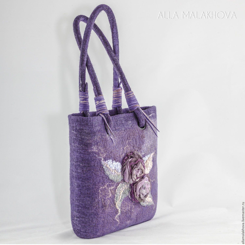 4a724a0f558f Валяная сумка Хокку - купить или заказать в интернет-магазине на Ярмарке  Мастеров - BIUMRRU