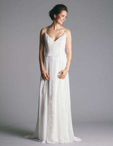d1f879751b0 Robyn Roberts Studio  Blousson gorgette gown Unique Weddings