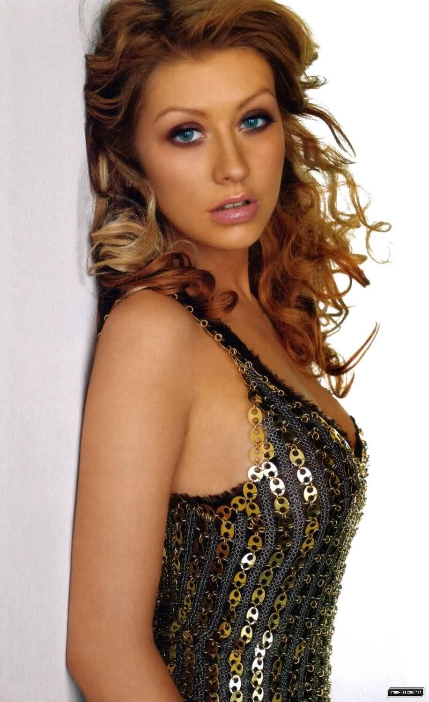 Christina Aguilera Light Brown Hair