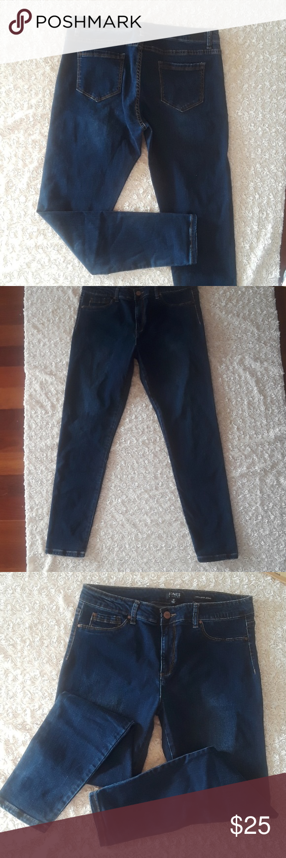 38d9b2e4 Jonss NY Tori Seamless Legging Jean's Size 12 Great condition. Skinny leg womens  jeans.