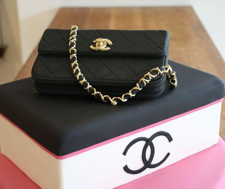 chanel designer handbag bag purse custom pastry cakes for ...