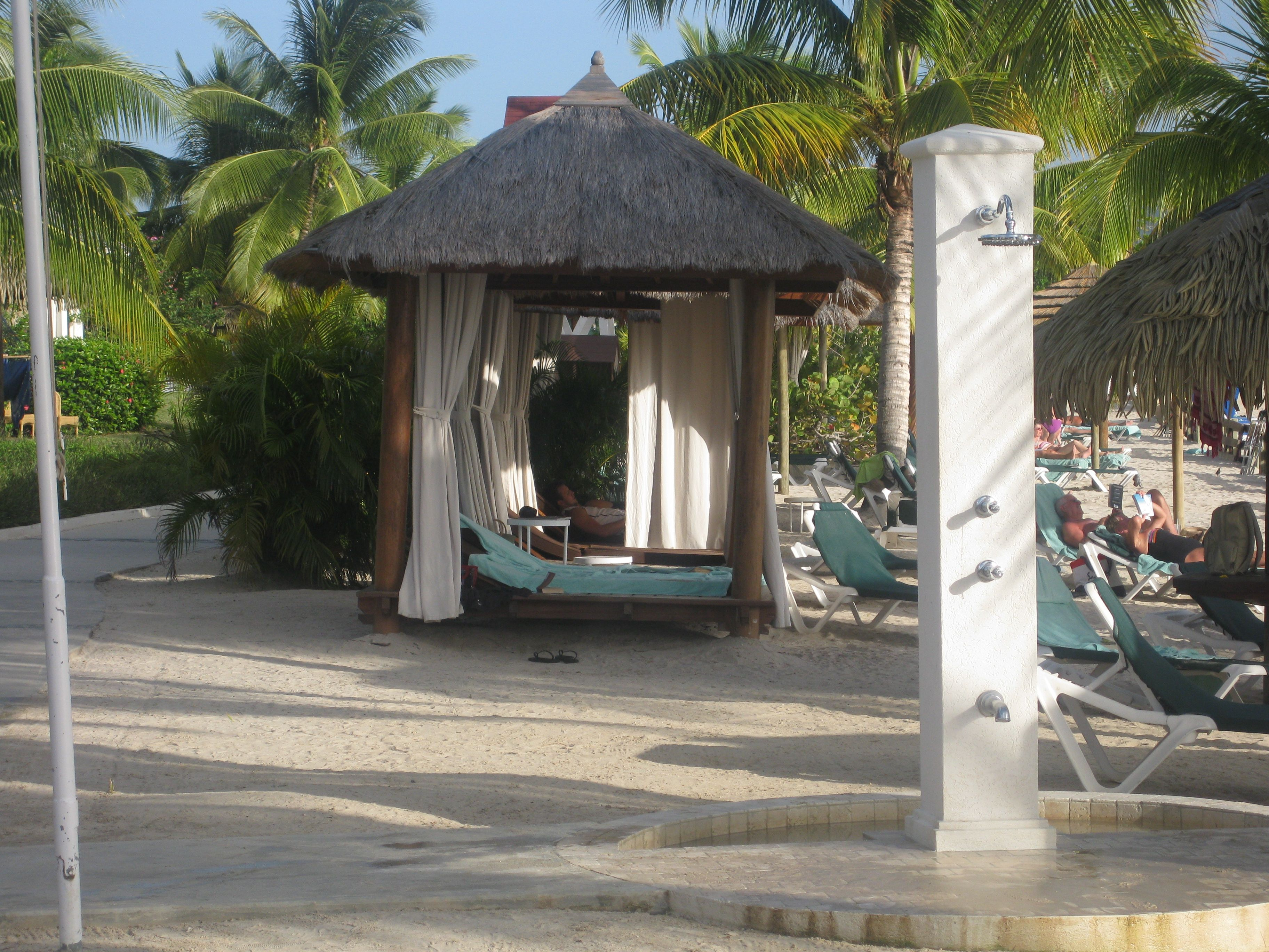 Private Beach Cabanas At The Sandals Grande St Lucia Contact Me Swabt Comcast To Book Today