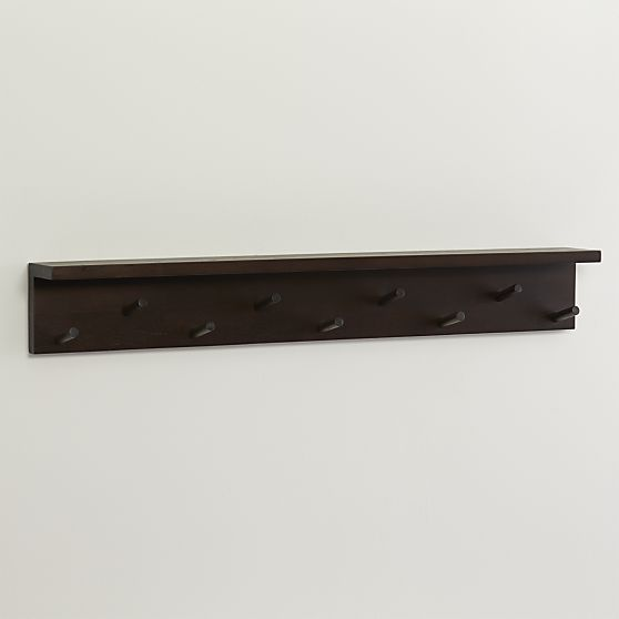 Andes Wall Mounted Coat Rack Crate And Barrel Brooklyn Chic Classy Crate And Barrel Wall Mounted Coat Rack