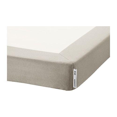 Ikea Evanger Sommier Bege 140x200 Cm A Capa E Amovivel E
