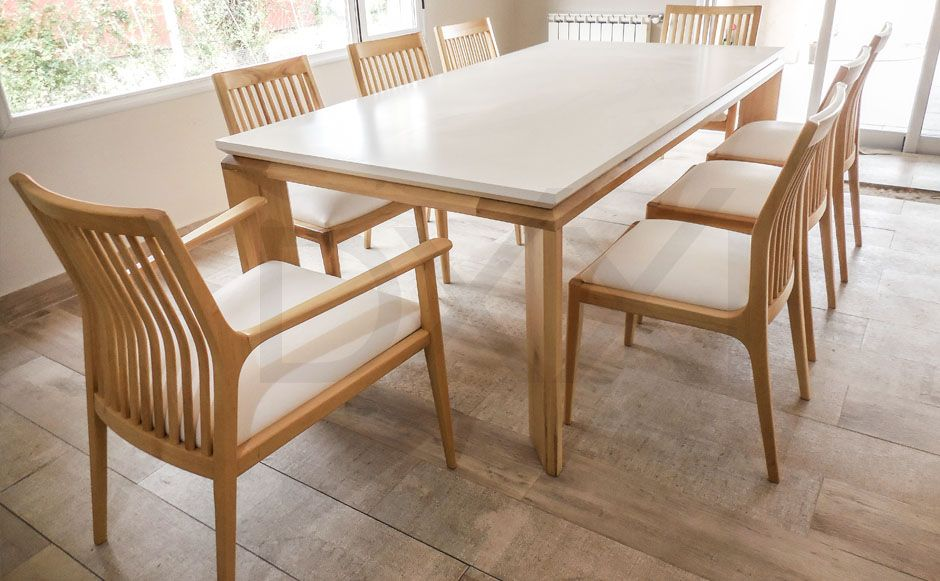 Mesa comedor extensible Olsen - Fábrica | DXXI | muebles | Comedores ...