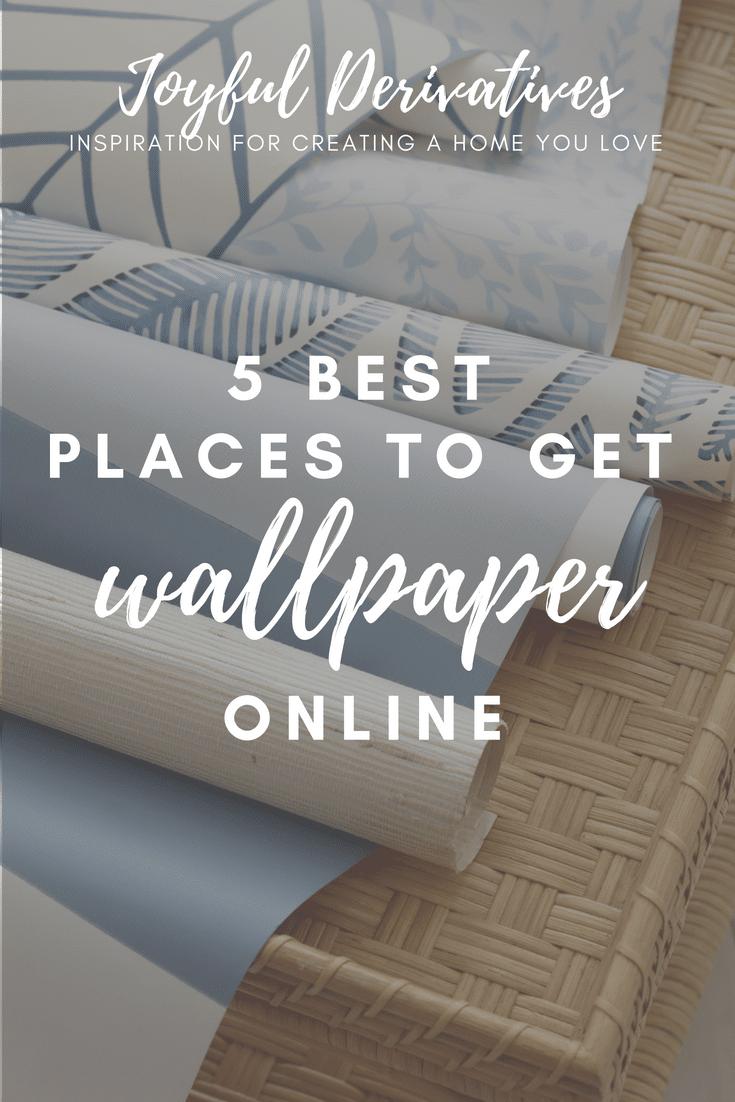 5 Friday Favorites Best Places To Get Wallpaper Online Kitchen