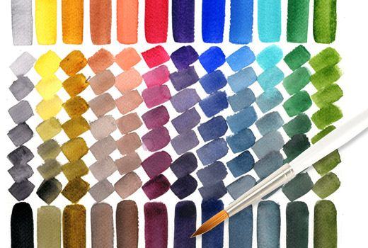A Chart Of Colors Gradually Mixed With Neutral Tint Daniel Smith