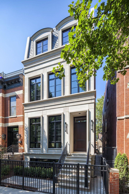 Portfolio Environs Development Inc Facade House Brownstone Homes Small House Elevation Design