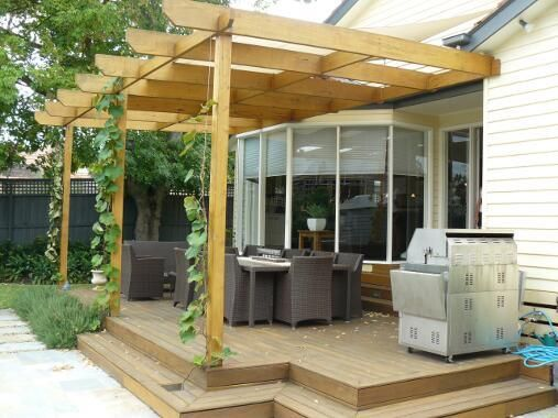 Pergola Design Ideas 17 Decks Shaded By Cool Pergolas Diy Network