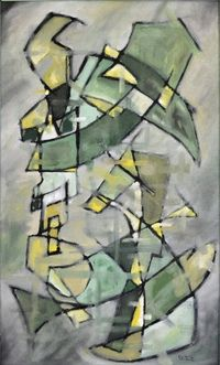 G Caliman Coxe African American Abstract Artist Keeping Up With