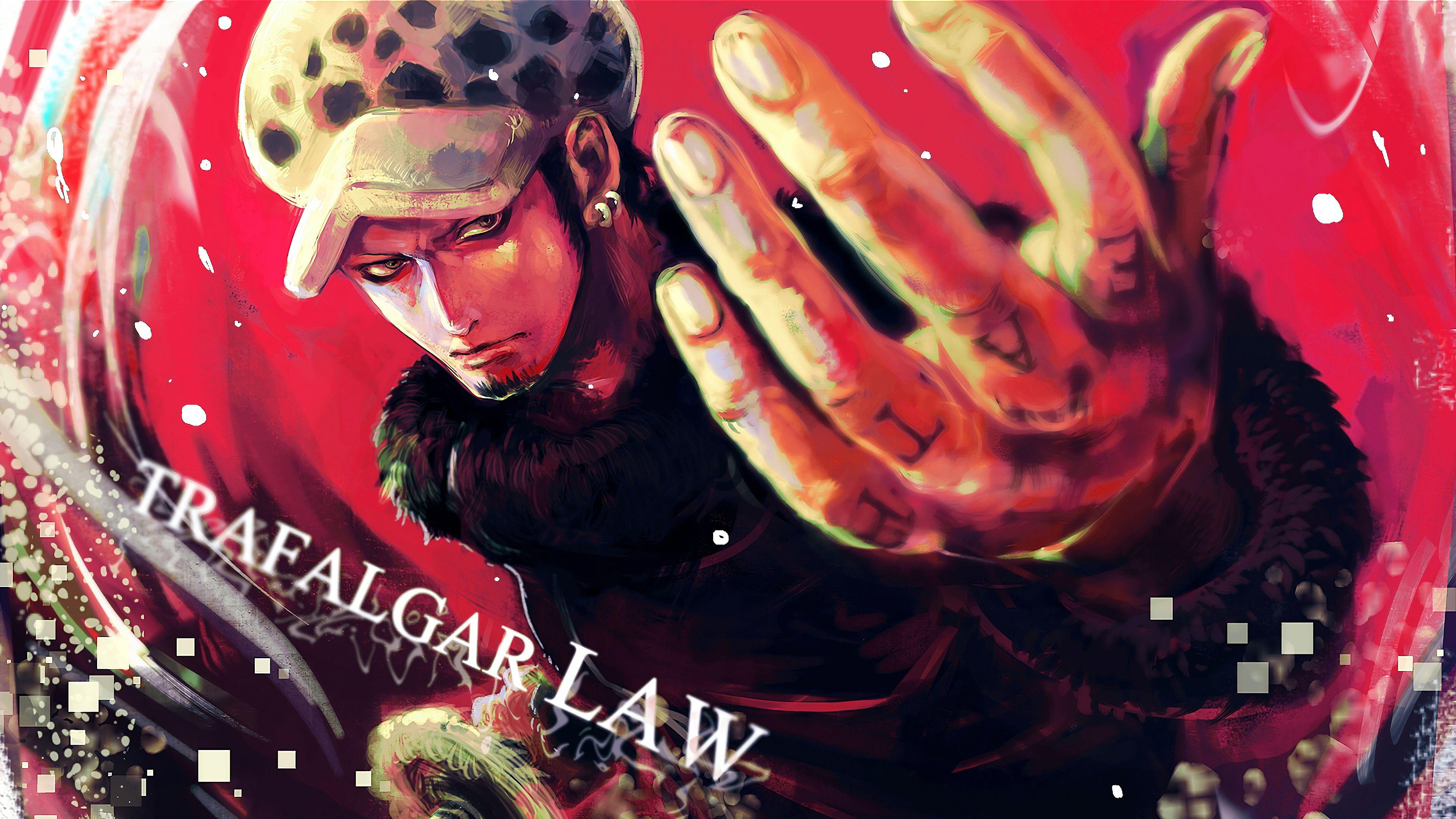Trafalgar D Water Law One Piece Anime 3840x2160 Wallpaper Trafalgar Law Trafalgar Law One Piece Trafalgar