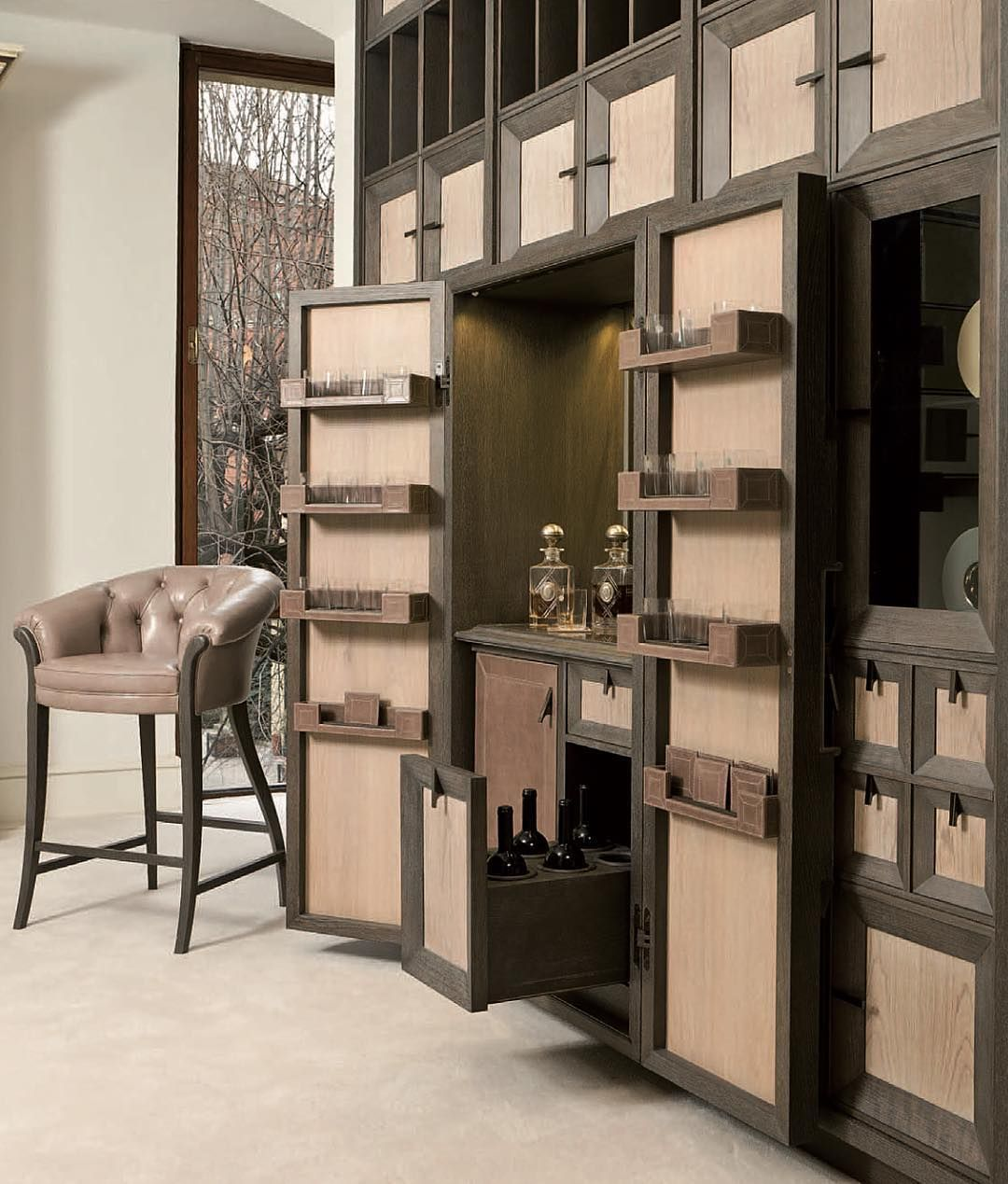 Annibale Colombo's New Quadro system is a dream of bespoke