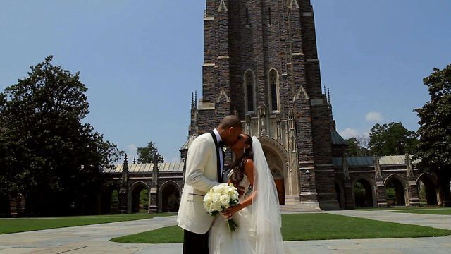 Dahntay jones wedding dress