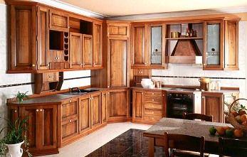 Gabinetes de madera para la cocina cocina decora for Disenos de gabinetes de cocina