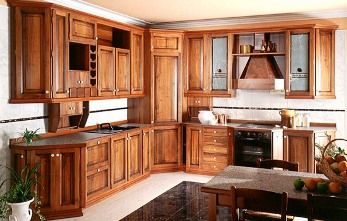 Gabinetes de madera para la cocina | Cocina - Decora Ilumina ...