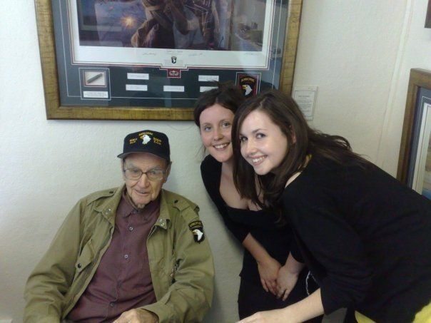 Buck Taylor - Easy Company 506 PIR 101st Airborne. It was a pleasure to meet you, Sir - RIP.