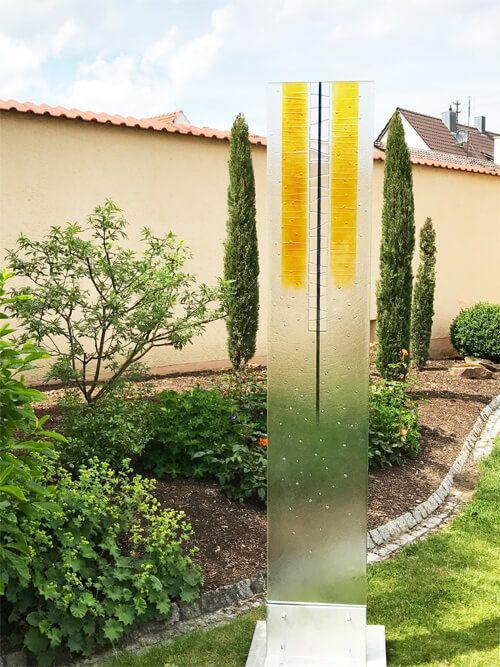 Glaskunst Garten Glas Im Garten Glass Art Glass Und Garden
