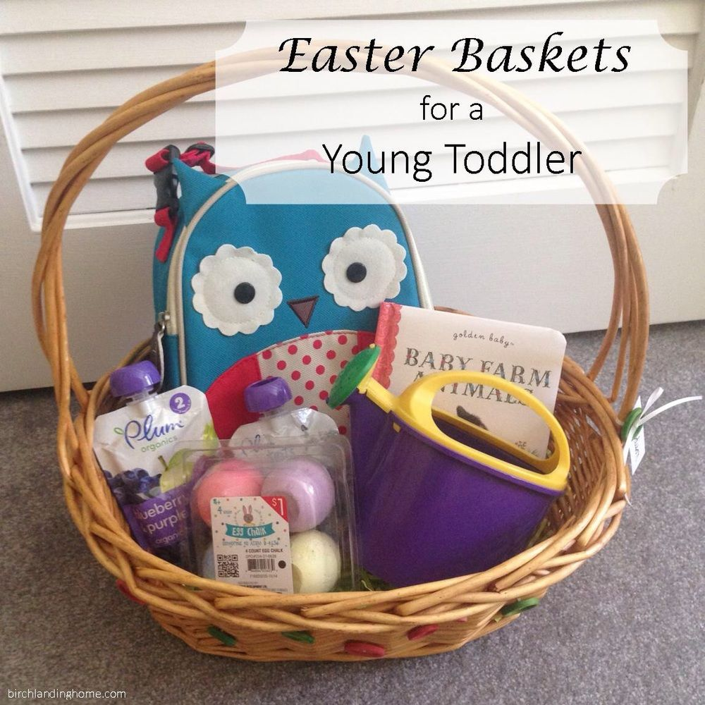 Young toddler easter basket ideas basket ideas easter baskets and young toddler easter basket ideas that are practical fun and best of all negle Images