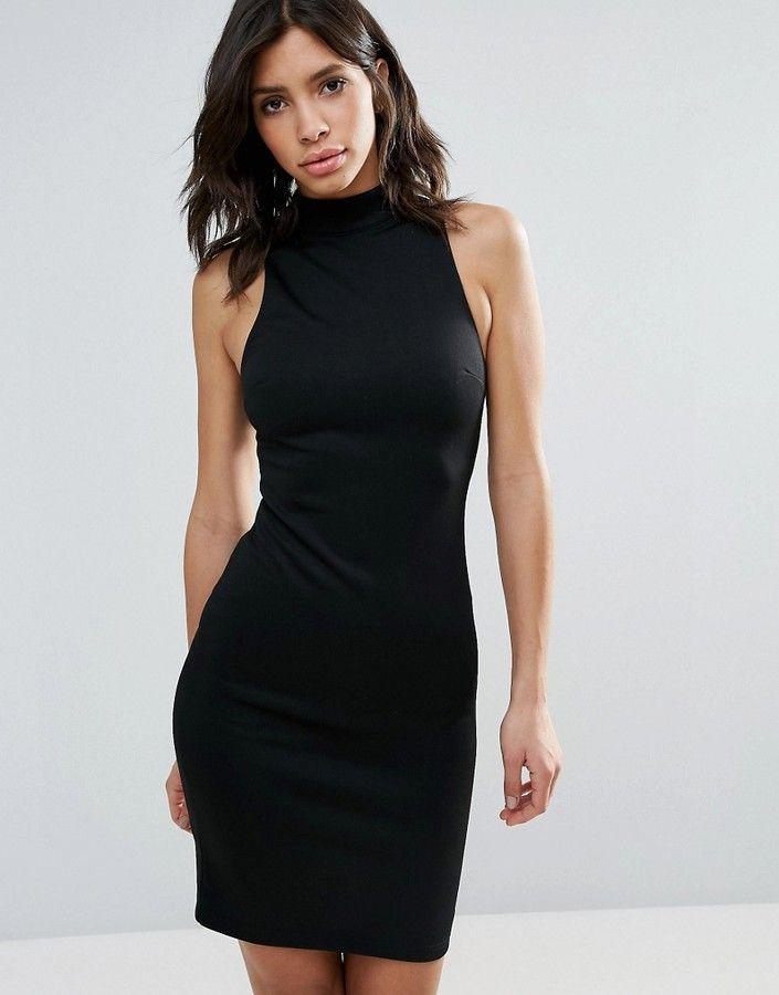 Talulah Relapse High Neck Bodycon Dress