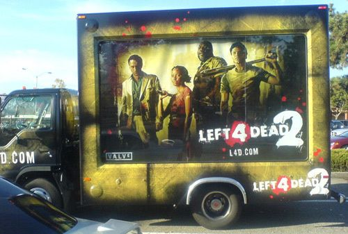 Left 4 Dead 2 on a Truck