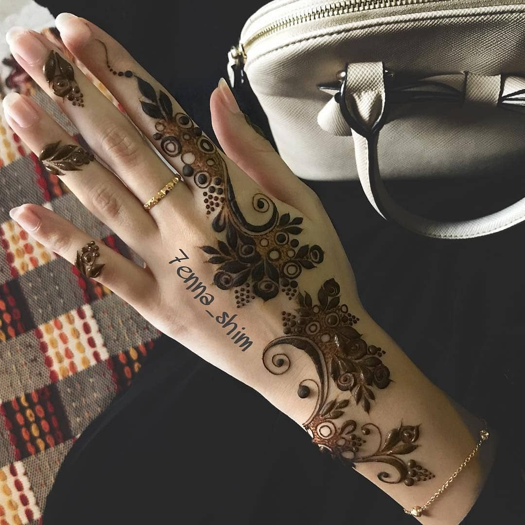 Beautiful Gulf Style By 7enna Shim Henna