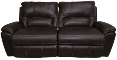 La Z Boy Charger Leather Reclining Sofa