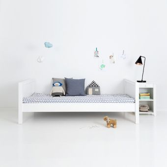 sanders jugendbett kinderbett fanny 90x200cm h he 70cm schneewei interior pinterest. Black Bedroom Furniture Sets. Home Design Ideas