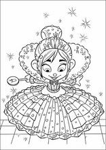 Coloring book. ColouringWreck-It Ralph58