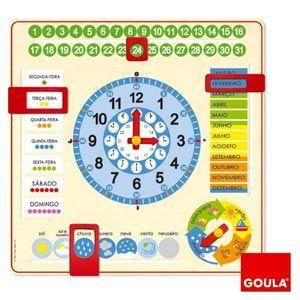 Netshop | Relógio calendário - Goula
