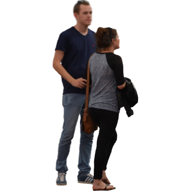 Couple Shopping People Png People Cutout Render People